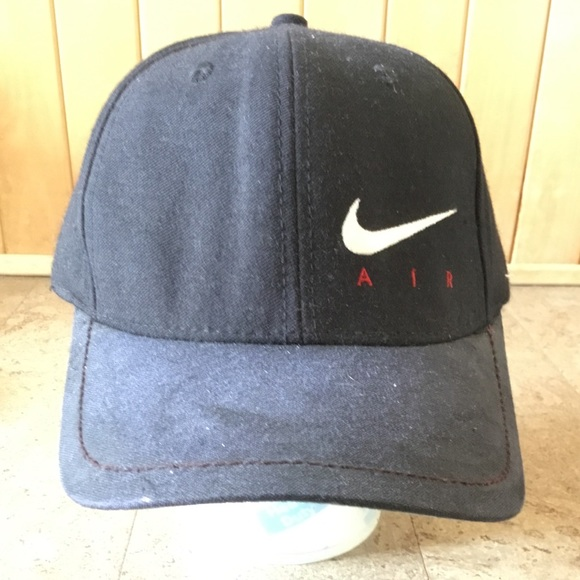 VINTAGE NIKE AIR 90s baseball cap adjustable logo.  M 5b45320cd6dc527f5af7dd0c f3663c4d6184